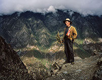 """""""Here There Are Men"""" - China Portraits / Tibet"""