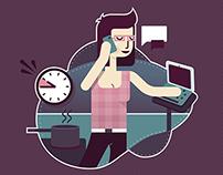 Multitasking mums
