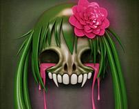 Skull Hairstyle