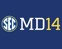 2014 SEC Football Media Days Posters