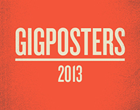 GIGPOSTERS 2013