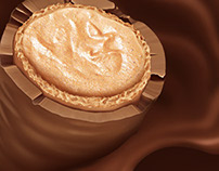 Arcor   Chocolate Snack Illustration