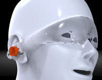 goggles (security glasses) with earplugs