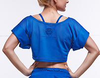 Look-book for TERRITORY OF YOGA summer '14  & T.O.Y