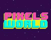 Pixels World | Poster