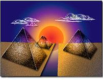 Futuristic Pyramids