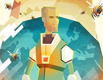 Sci-Fi game concept art