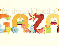 For the childhood of GAZA.