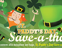 St Patrick Day poster