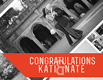Kati's and Nate's Engagement Poster