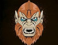 Ilustración Beast Man