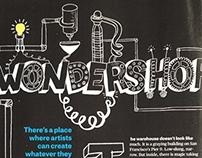 Headline Illustration for Popular Mechanics Magazine