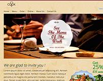 Restaurant Web UI