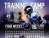 Minnesota Vikings Infographic