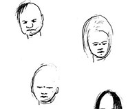 Character Face Sketches
