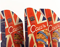 Carr's Crackers Re-brand