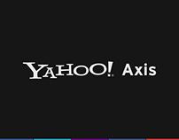 Yahoo! Axis iPad Application