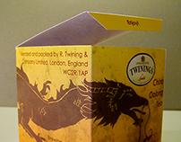 Oolong Tea Box Design