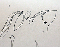 t o v — abstract female line drawings