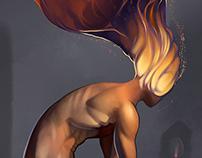 Sentinel (figure study)