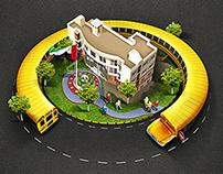 visualizing school bus campaign