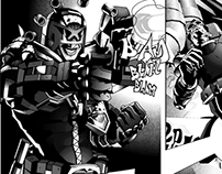 ZARJAZ 21 - Judge Dredd strips