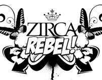 ZIRCA+REBEL 1ST ANNIVERSARY FLYER