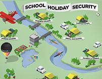 School Holiday Security website