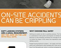 Fall Safe ad