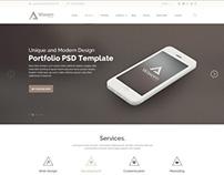 PSD Template - Waxom - Clean & Universal