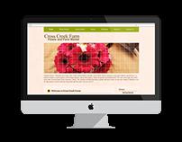 Cross Creek Farm Website Redesign
