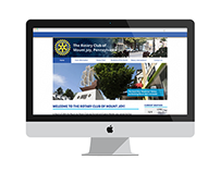 The Rotary Club of Mount Joy Website Design