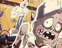 Zombies Casa Díaz