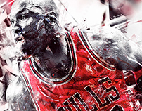 Michael Jordan Artwork
