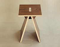 Tower II - collapsible stool