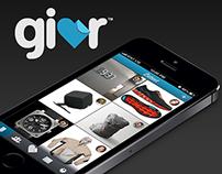 Givr iOS App Concept