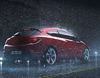 OPEL Astra Styleframes for a TVC