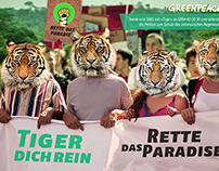 Greenpeace's The Tiger Challenge