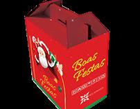 Embalagem - Cesta de Natal