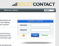 BoostContact Agents Website