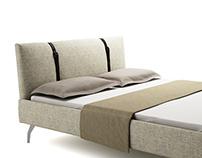 Free 3d model: Legami Bed by Zanotta