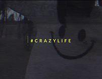 """Drop Dead Clothing """"Crazy Life"""""""