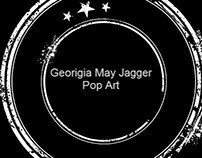 Georgia May Jagger Pop Art