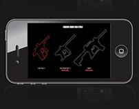 Paintball gun customiser app