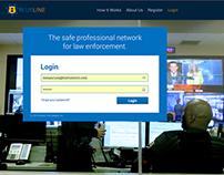 BlueLine Connect Web App