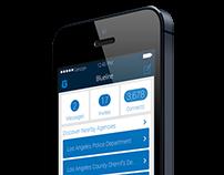 BlueLine Mobile App Prototype