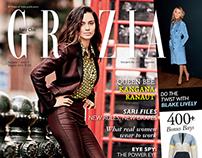 Kangana Ranaut for Grazia India, August 2014
