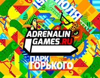 ILLUSTRATIONS FOR ADRENALIN GAMES '14