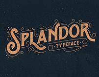 Splandor Typeface