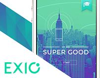 Exio - responsive one page concept